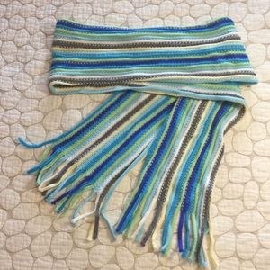 New York & Company • Colorful Stripes Winter Scarf